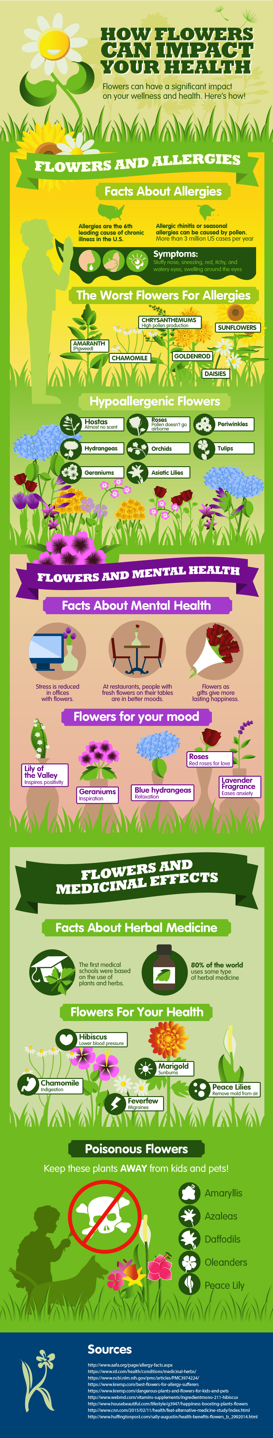 HHow Flowers can Impact your Health