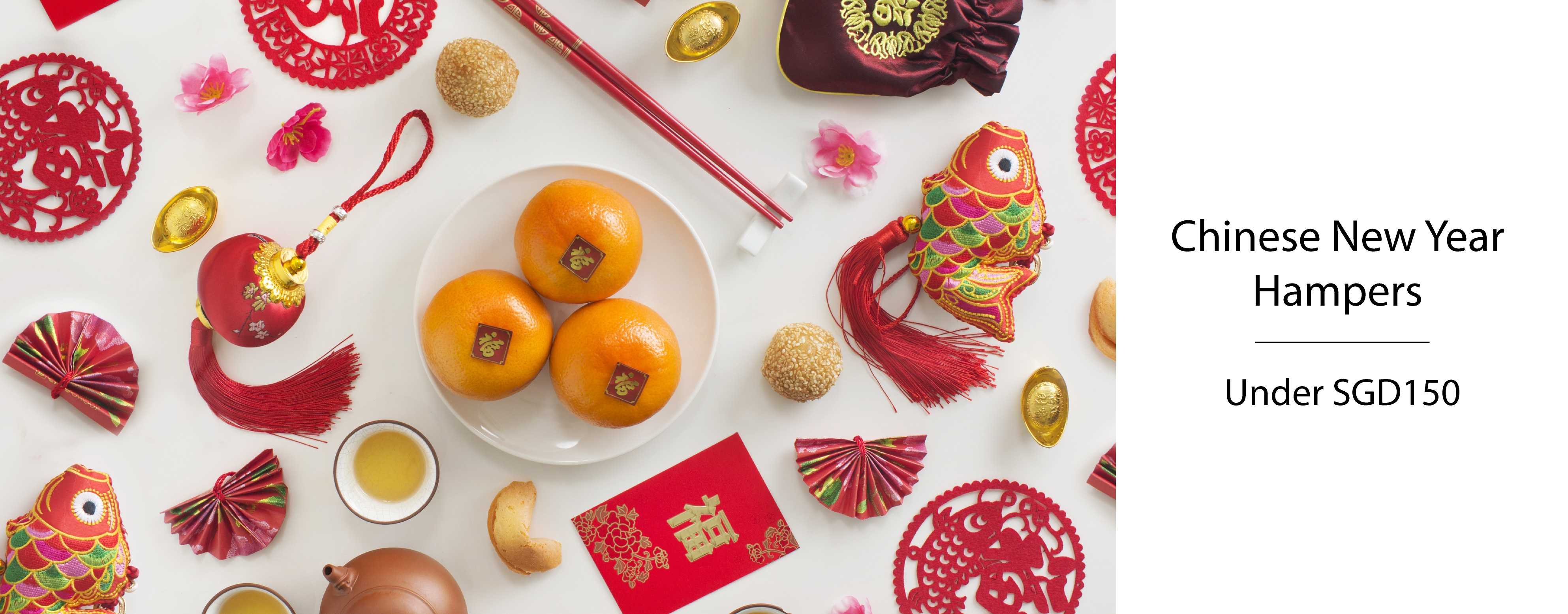 HChinese New Year Hampers under SGD150
